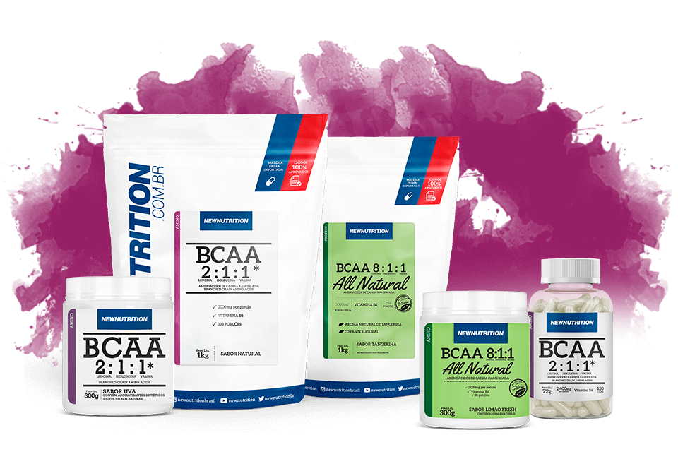 BCAA, Glutamina, Creatina